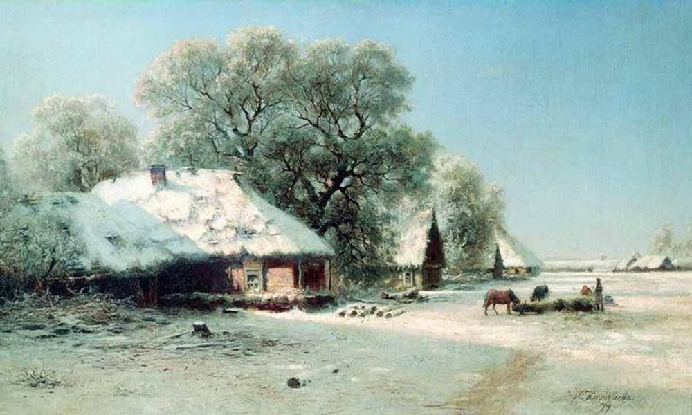 Стихи Пушкина о деревне