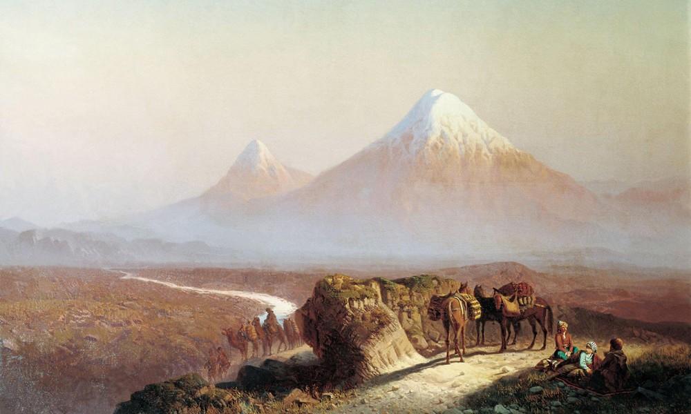 Стихи Пушкина о Кавказе