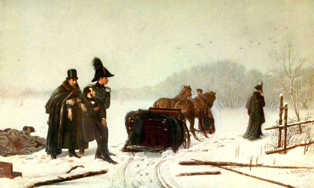 Стихи Александра Сергеевича Пушкина о смерти